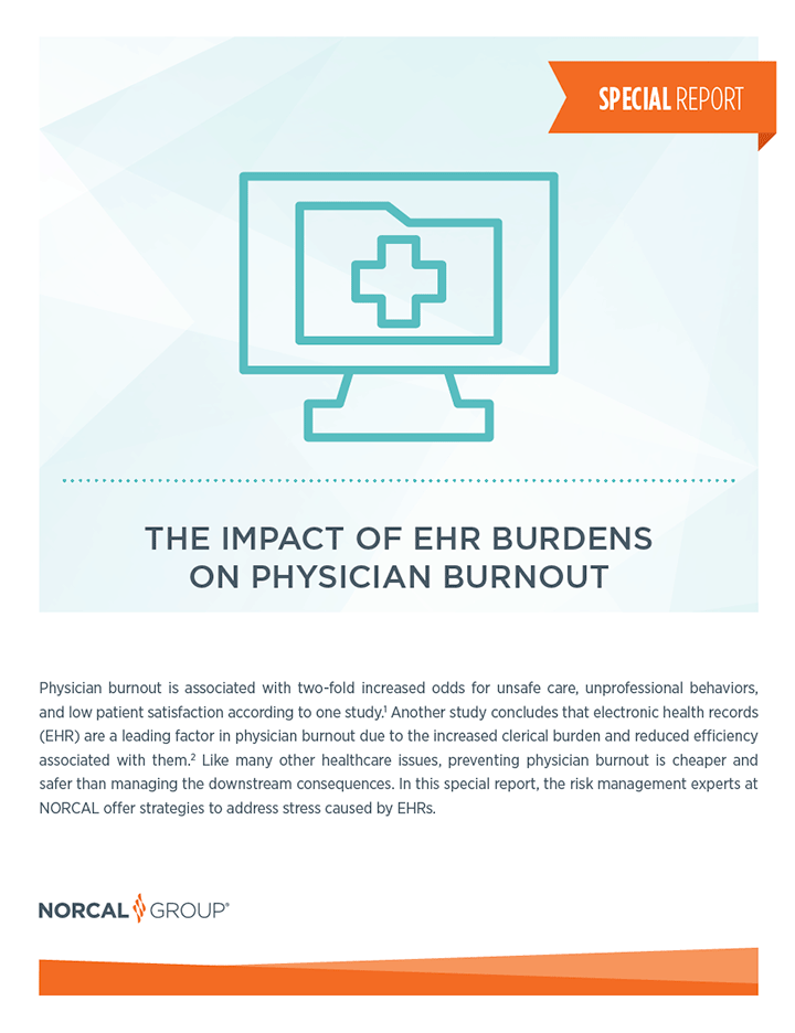 Impact of EHR Burdens