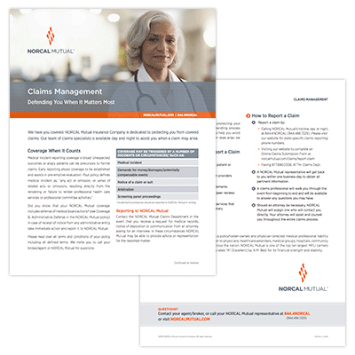 Download Claims Management Flyer