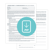 Download Fillable PDF: Informed Consent Template