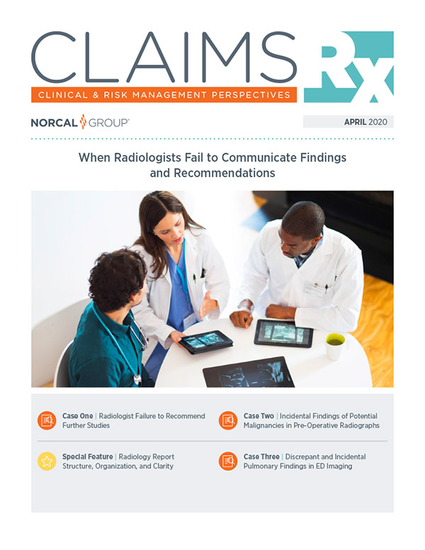 Claims Rx April 2020