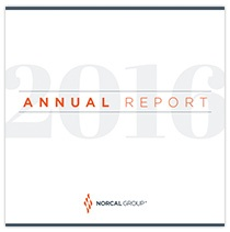 NORCAL Group 2016 Annual Report